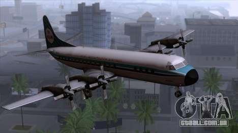 L-188 Electra KLM v1 para GTA San Andreas
