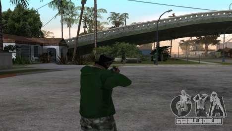 M4 Cyrex из CS:GO para GTA San Andreas terceira tela