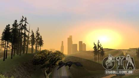 A oportunidade de jogar para o pássaro v2 para GTA San Andreas oitavo tela