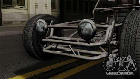 GTA 5 Space Docker SA Mobile para GTA San Andreas vista traseira