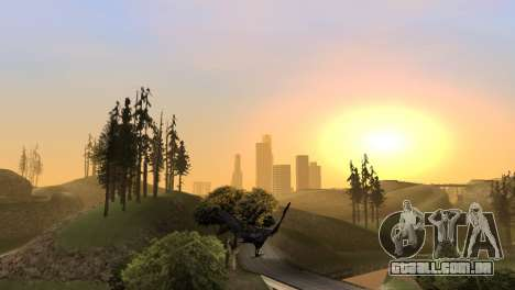 A oportunidade de jogar para o pássaro v2 para GTA San Andreas sétima tela