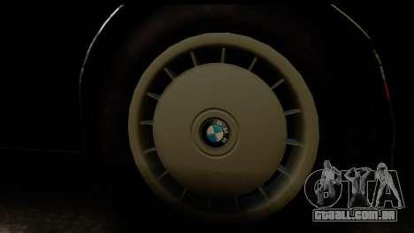 BMW M5 E34 para GTA San Andreas vista direita