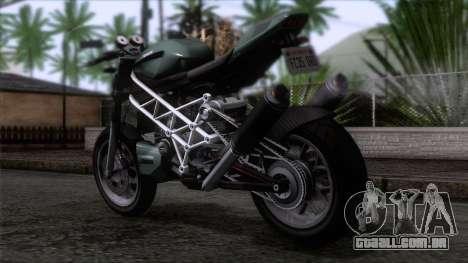 Principe Lectro para GTA San Andreas esquerda vista