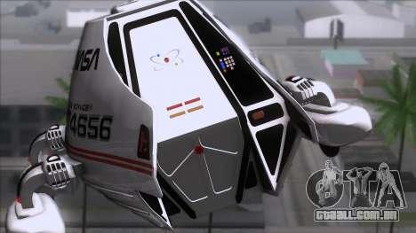 Shuttle v2 Mod 2 para GTA San Andreas vista traseira