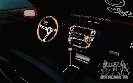 Honda Civic DRY Garage para GTA San Andreas vista direita