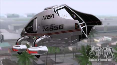 Shuttle v2 Mod 2 para GTA San Andreas esquerda vista