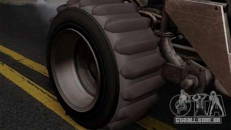 GTA 5 Dune Buggy para GTA San Andreas vista traseira