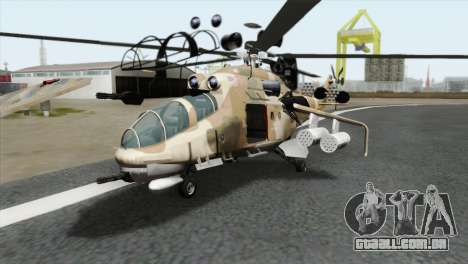 Savage GTA 5 v1.1 para GTA San Andreas