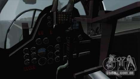 Savage GTA 5 v1.1 para GTA San Andreas vista traseira