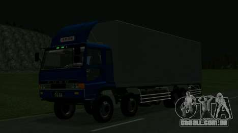 Mitsubishi Fuso The Great para GTA San Andreas vista traseira