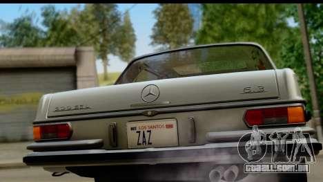 Mercedes-Benz 300 SEL 6.3 (W109) 1967 FIV АПП para GTA San Andreas vista direita