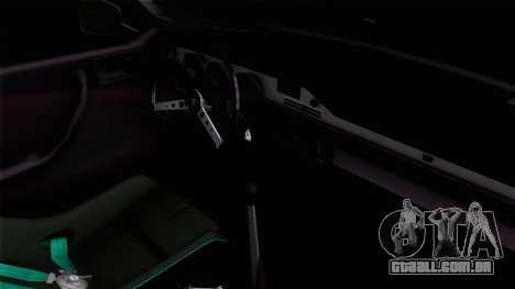 Dacia 1300 GFB Stanced para GTA San Andreas traseira esquerda vista
