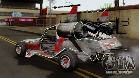GTA 5 Space Docker IVF para GTA San Andreas esquerda vista