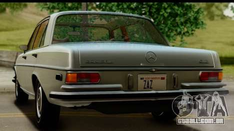 Mercedes-Benz 300 SEL 6.3 (W109) 1967 FIV АПП para vista lateral GTA San Andreas