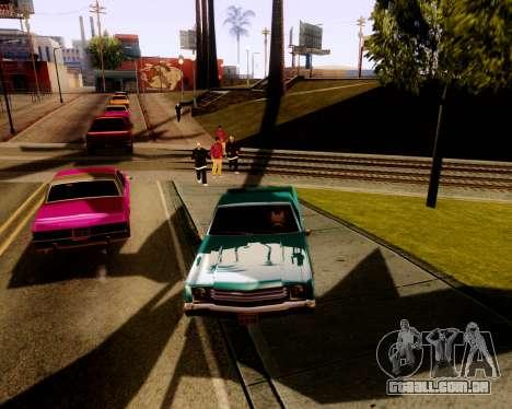 Ultimate ENB Series para GTA San Andreas segunda tela