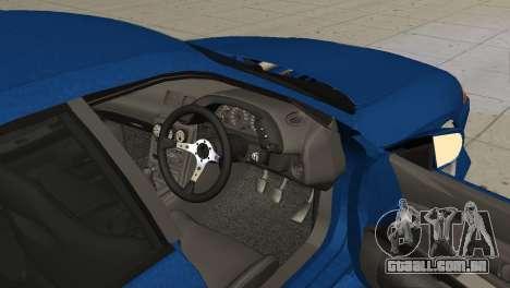 Nissan Skyline R32 Sedan para GTA San Andreas traseira esquerda vista