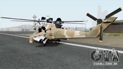 Savage GTA 5 v1.1 para GTA San Andreas esquerda vista
