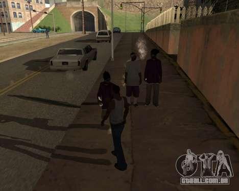 Shadows Settings Extender 2.1.2 para GTA San Andreas por diante tela