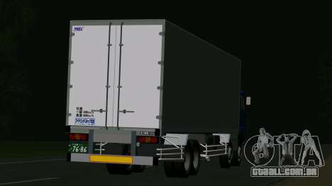 Mitsubishi Fuso The Great para GTA San Andreas vista direita