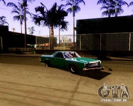 Ultimate ENB Series para GTA San Andreas terceira tela