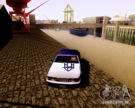 Ultimate ENB Series para GTA San Andreas por diante tela