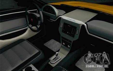 GTA 5 Cheval Fugitivo FIV АПП para GTA San Andreas vista direita