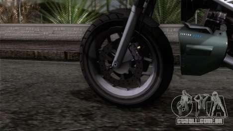 Principe Lectro para GTA San Andreas traseira esquerda vista