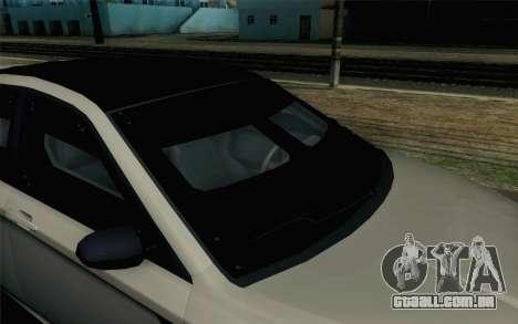 GTA 5 Karin Kuruma v2 Armored SA Mobile para GTA San Andreas vista traseira