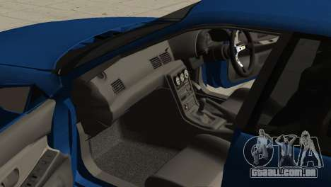 Nissan Skyline R32 Sedan para GTA San Andreas vista direita