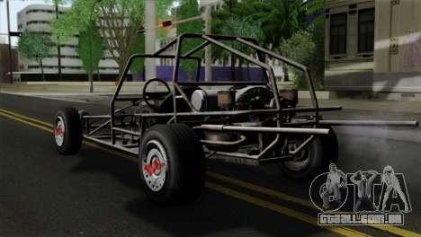 GTA 5 Space Docker SA Mobile para GTA San Andreas esquerda vista