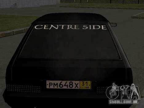 ВАЗ 2109 Centro de Lado para GTA San Andreas esquerda vista