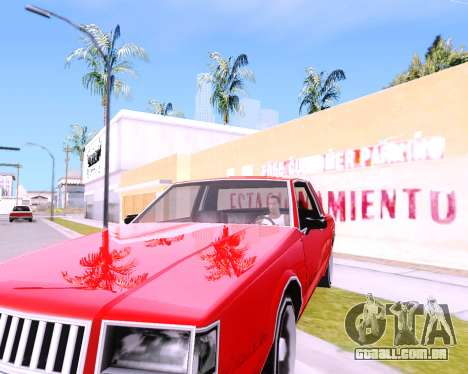 ENB Low PC AKedition para GTA San Andreas por diante tela