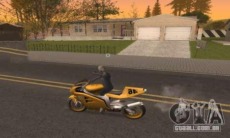 CLEO Drive By para GTA San Andreas quinto tela