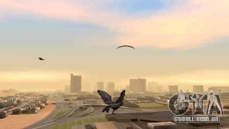A oportunidade de jogar para o pássaro v2 para GTA San Andreas segunda tela