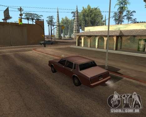 Shadows Settings Extender 2.1.2 para GTA San Andreas quinto tela