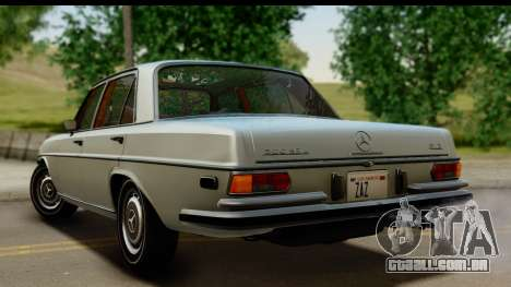 Mercedes-Benz 300 SEL 6.3 (W109) 1967 FIV АПП para GTA San Andreas esquerda vista