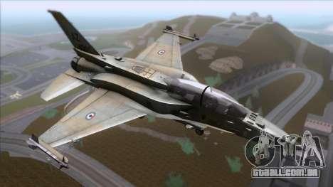F-16F Fighting Falcon United Arab Emirates para GTA San Andreas