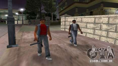 Novas armas, gangues para GTA Vice City