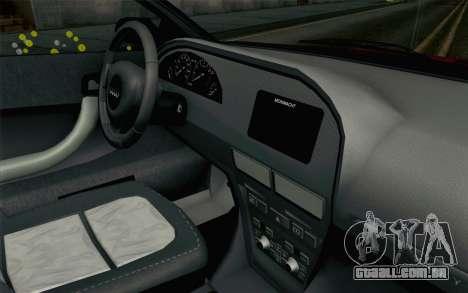 GTA 5 Obey Tailgater v2 SA Style para GTA San Andreas vista direita