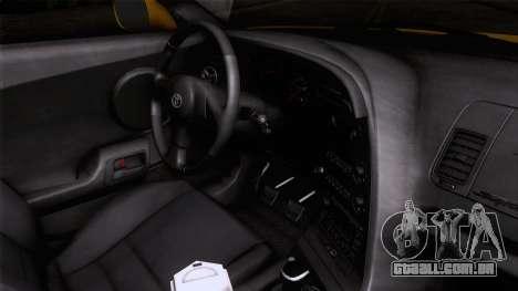 Toyota Supra S-Spec (JZA80) 1993 ECO AUDIT para GTA San Andreas vista direita