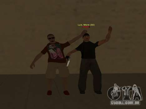 ALEX&GRIN Skin para GTA San Andreas sexta tela