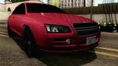 GTA 5 Obey Tailgater v2 SA Style para GTA San Andreas
