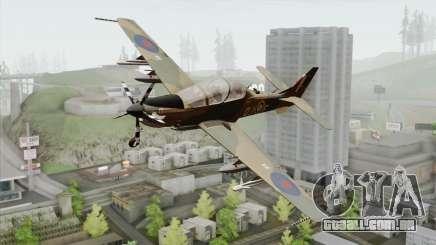 Embraer A-29B Super Tucano RAF para GTA San Andreas