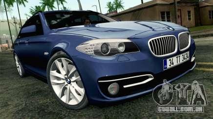 BMW 530d F11 Facelift HQLM para GTA San Andreas