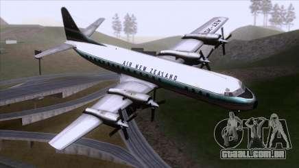 L-188 Electra Air New Zealand para GTA San Andreas