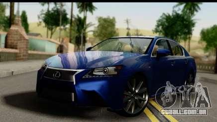 Lexus GS350 limousine para GTA San Andreas