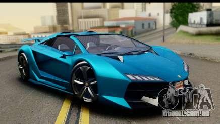 GTA 5 Zentorno Cabrio para GTA San Andreas
