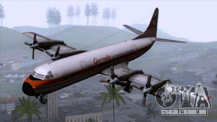 L-188 Electra Garuda Indonesia para GTA San Andreas