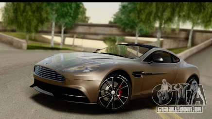 Aston Martin Vanquish 2013 Road version para GTA San Andreas