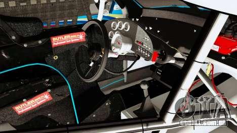 NASCAR Dodge Charger 2012 Plate Track para GTA San Andreas vista direita